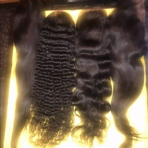 100% Human Indian full lace wigs